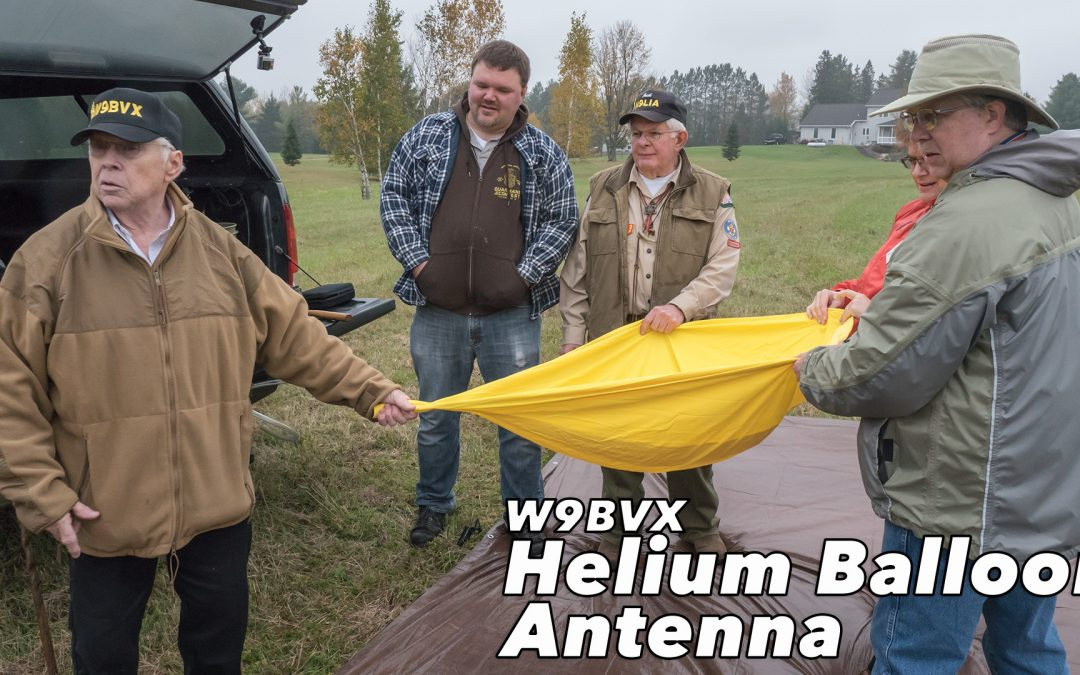Video: W9BVX Helium Balloon Antenna