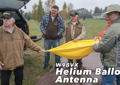 Video: W9BVX Helium Balloon Antenna