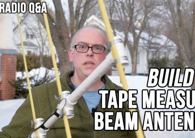 Video: Build It, Tape Measure Beam Antenna