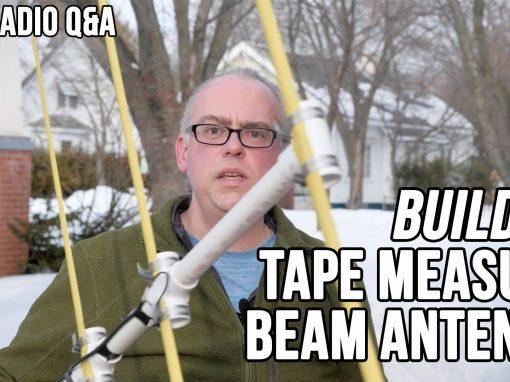 Video: Build It, Tape Measure Beam Antenna